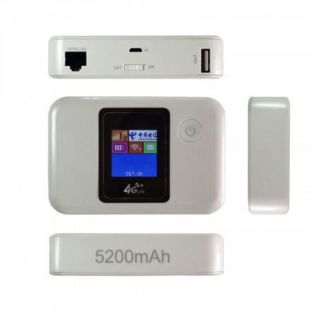 NR 311 – 4G Mi-Fi Router with Power Bank